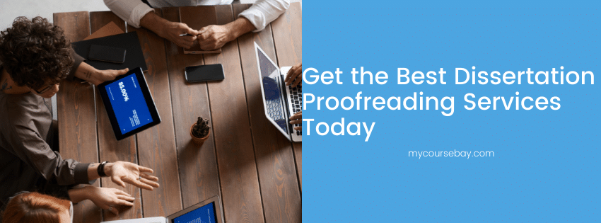 Dissertation Proofreading Services Professional Dissertation Editing